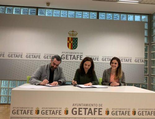 Convenio con el Ayuntamiento de Getafe