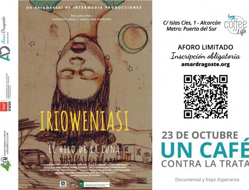 23 de octubre: «Un café contra la trata» en Coffee Life